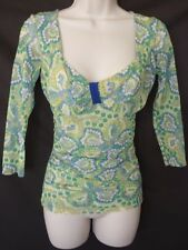 NWT Sweet Pea Stacy Frati Paisley Shirt S $98