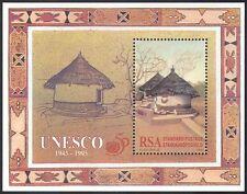 RSA 1995 UNESCO/UN/Traditional House/Buildings/Architecture 1v m/s ref:s5647