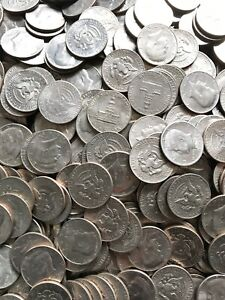 5-Coin Lot of Kennedy Half Dollars - Various 50 cent pieces pulled from huge lot