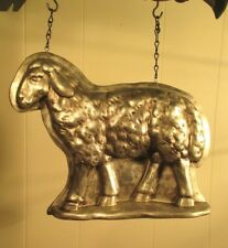 """""""Silver Standing Sheep"""" Replacement Sign - Resin Sign for Country Arrow Holders"""