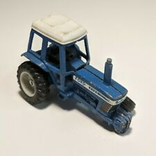 Vintage Ertl Farm Machinery Of The World 1/64 Diecast Blue Ford 9700 Tractor