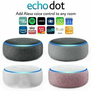Amazon Echo Dot 3rd Generation Smart Speaker with Alexa - UK-stock !!!