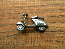 "VESPA VEST PIN ~1-1/8""x 3/4"" SCOOTER LAPEL HAT BADGE BIKER BROCHE JACKET PIAGGIO"