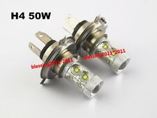 2x H4 9003 50W CREE LED Bulb Car DRL Bulb Fog light Headlight For Honda Chevy AA