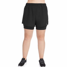 Champion Women's Plus Stretch Woven 2 in 1 Shorts Qm0255 2x