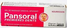 PANSORAL gel  for tooth  - baby 15 ml./ Drilling the first baby teeth