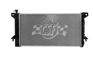 Radiator-1 Row Plastic Tank Aluminum Core CSF 3546
