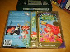 Vhs *THE LITTLE MERMAID* Walt Disney Classics Collectors Edition - Not a Dvd!