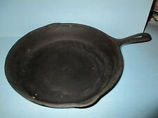 VINTAGE WAGNER WARE CAST IRON SKILLET # 8 , 10 1/2 INCH MADE IN U.S.A with a Y