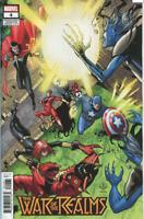 WAR of the REALMS #4 MARVEL COMICS EDGAR DELGADO VARIANT COVER F 2019