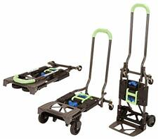 Foldable Hand Cart Truck Dolly Heavy Duty Sturdy 300 Lb Lightweight Mover Steel