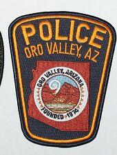ORO VALLEY POLICE Arizona AZ PD patch