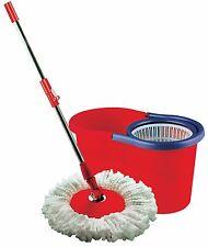 Wonder Mop Magic Mocio con secchio rosso 360 gradi SPIN MOP 12 LITRI