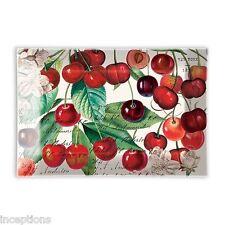 Michel Design Works Glass Soap Dish Black Cherry - NEW