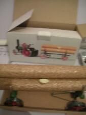 MAMOD (MALINS) LW1 LUMBER WAGON WITH LOGS ~ LIVE STEAM RAILWAY ~ 1978 ~ BOXED