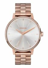 Nixon Kensington Watch Rose Gold/White NEW in box