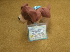 Ganz Kinz Klip ~ BROWN DOG ~ (WE000740) new with unused tags ~ approx 4""