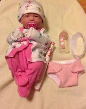 MY SWEET BABY GIRL !!BERENGUER PREEMIE LIFELIKE REBORN DOLL W PACIFIER,BOTTLE