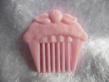 Vintage Cherry Merry Muffin Pink Comb - 80s 90s Retro Mattel Doll Sweet Cute