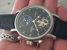 MINORVA REAL 360 DEGREES 1 MINUTE TOURBILLON, DATE, MOONPHASE, USA SELLER