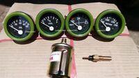 24v Electrical Gauges 52mm - Oil Pressure Temp Fuel Volt with Senders