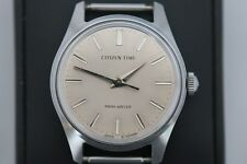 """Rare Vintage Citizen """"Time"""" 4-020367 Parawater 1969 watch"""