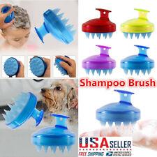 SILISCRUB - The Original Silicone Shampoo Brush Hair Massage Brush Bath Spa Comb