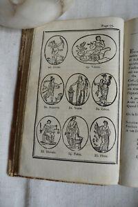 Cours De Mythologie Brunel Avec 82 Vignettes 9 Grav 1823 Cuir Int Frais