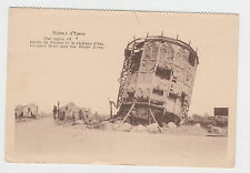 THE RUINS OF YPRES Furnes Road & the Water Tower BELGIUM FLANDERS rppc WW1