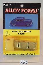 Alloy Forms 1/87 H0 Metal Kit 2018 1949 De Soto Custom 4-Door 2 OVP #2540