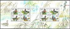 Ukraine - Weltweiter Naturschutz Rothalsgans Bogen postfrisch 1998 Mi. 282-285