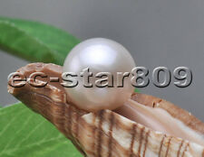 P5696 AA+ Natural 12.5mm White ROUND Edison KESHI PEARL LOOSE BEAD