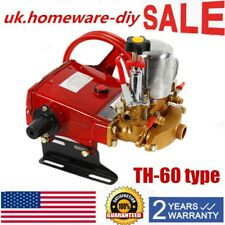 Th-60 High Pressure Triplex Cylinders Pump Agricultural Motor Sprayer Pump Usa