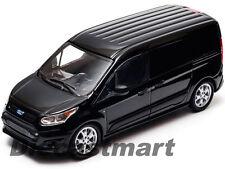 2014 FORD TRANSIT CONNECT (V408) BLACK 1:43 DIECAST MODEL CAR GREENLIGHT 86045