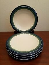 4pc Pfaltzgraff Ocean Breeze Salad Plates Excellent Condition Nearly Unused
