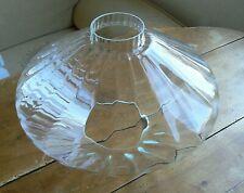 Grand (Ø 36cm) globe pour suspension abat-jour  verre vintage design