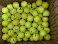 100 AAAA Yellow Assorted Value Mix Golf Balls Near Mint