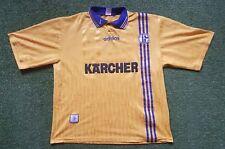FC Schalke 04 Trikot XL 96/97 Adidas Shirt Jersey Kärcher UEFA Cup Gelb