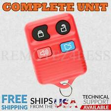 Keyless Entry Remote for 2003 2004 2005 Lincoln Aviator Car Key Fob Red
