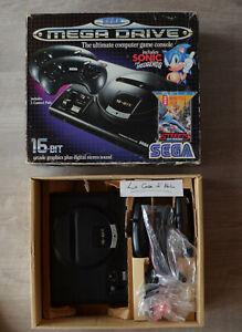Console Sega Megadrive 1 - Pack Sonic + Streets of Rage 1 (sans les jeux)