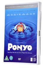 PONYO The Studio Ghibli Collection DVD Movie Film UK PAL REGION 2