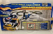 NASCAR Tech Race Challenge Hot Wheels TYCO CAT Dodge CITCO Ford Race Set