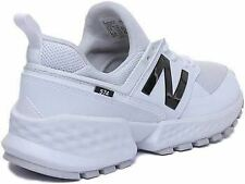 New Balance Ms574Ktc Lace Up Casual Trainer In White Black Size Uk 6 - 12