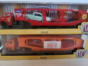 M2 Machines 1959 Chevrolet Viking/Bel Air & 1957 Dodge 700 Cherysler 300C Pack 2