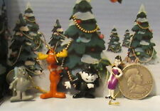 Rocky & Bullwinkle Boris & Natasha Ornaments Miniature Moose and Squirrel