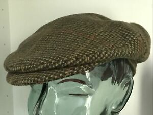 Joules Boys Tweed Traditional 'Peaky Blinders' Flat Cap, One Size VGC