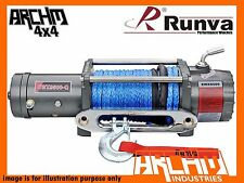 RUNVA EWX9500-Q 24V 9500LB with DYNEEMA ROPE ELECTRIC COMPACT RECOVERY WINCH