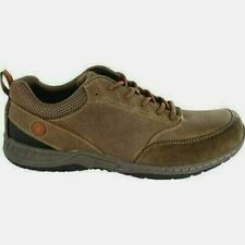 Nwob Nunn Bush Drumline Brown Waterproof Suede Leather Shoes Mens Size 8.5
