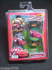 DISNEY PIXAR RACE O'RAMA LCD WATCH WITH 2 INTERCHANGEABLE TOPS AND STRAPS NIB