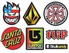 7 pegatinas Skate, Snow, Surf / SkullCandy, Spitfire, Burton, Volcom, SantaCruz